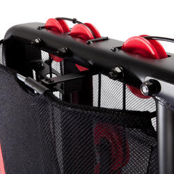 Multiestación de Musculación Home Gym Compact Domyos negra y roja 60 kg
