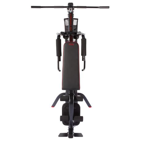 weight training compact home gym  domyosdecathlon