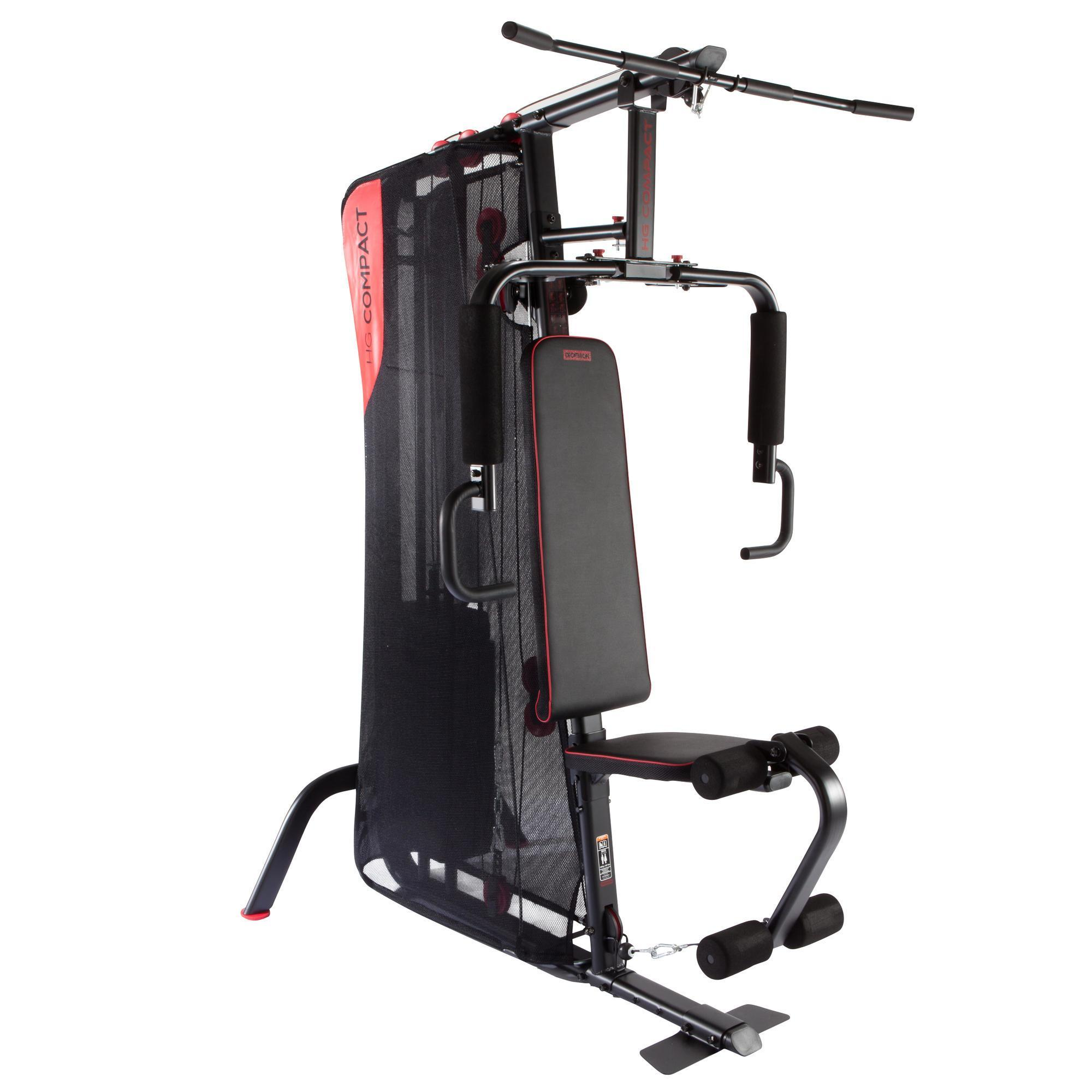 Domyos Appareil à Charge Guidée Home Gym Compact Musculation Decathlon