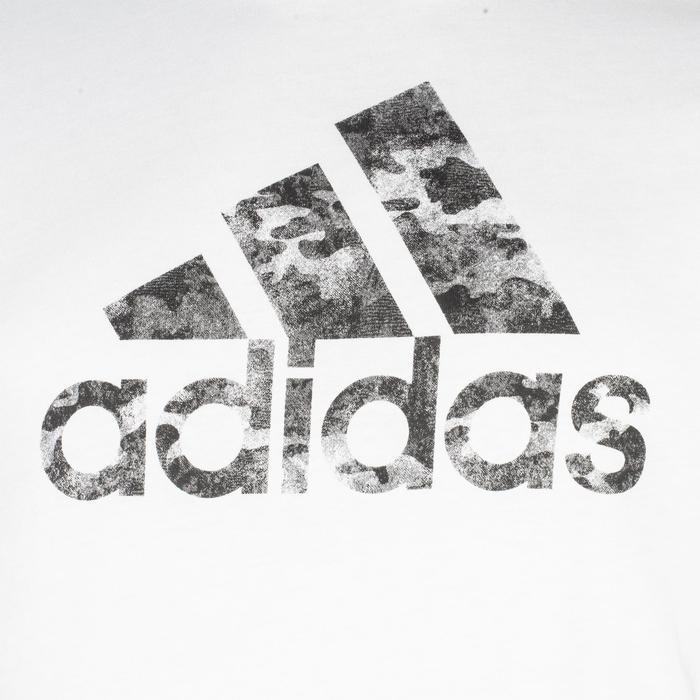 Tshirt Fitness garçon blanc