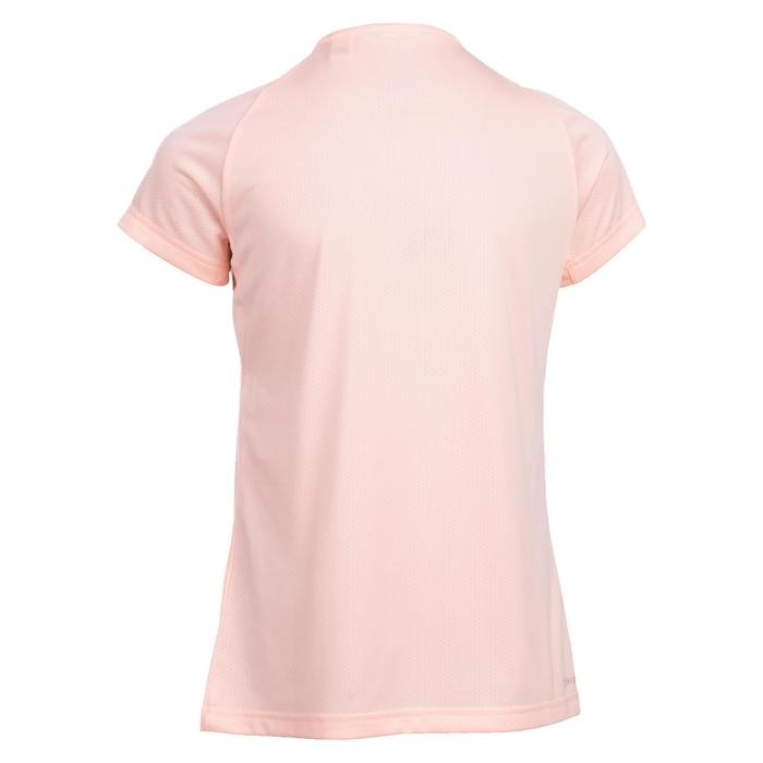 T-Shirt Gym fille corail