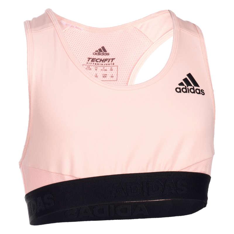 KÖNNYŰ FITNESZRUHÁZAT LÁNYOKNAK Fitnesz, jóga - Sportmelltartó tornához Adidas ADIDAS - Szabadidős fitnesz ruházat