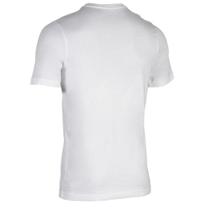 Tshirt Fitness garçon blanc - 1510836
