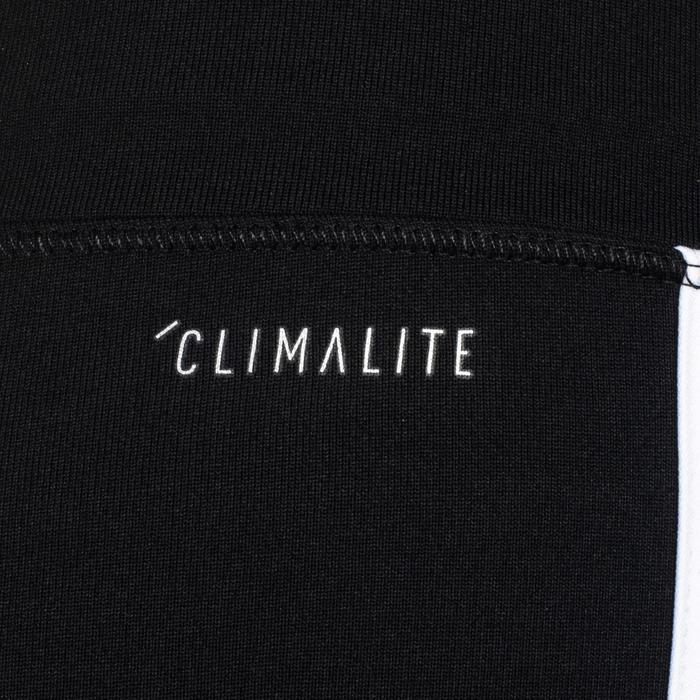 Fitnesskuitbroek voor meisjes zwart