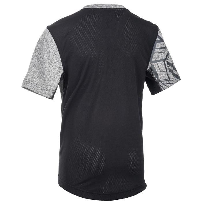 T-Shirt manches courtes Gym garçon noir - 1510842