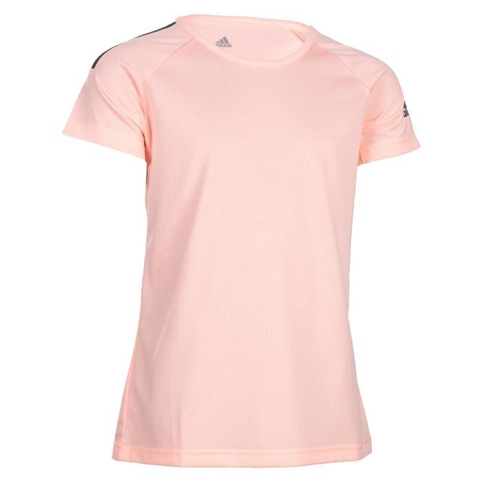 Gym T-shirt voor meisjes koraal