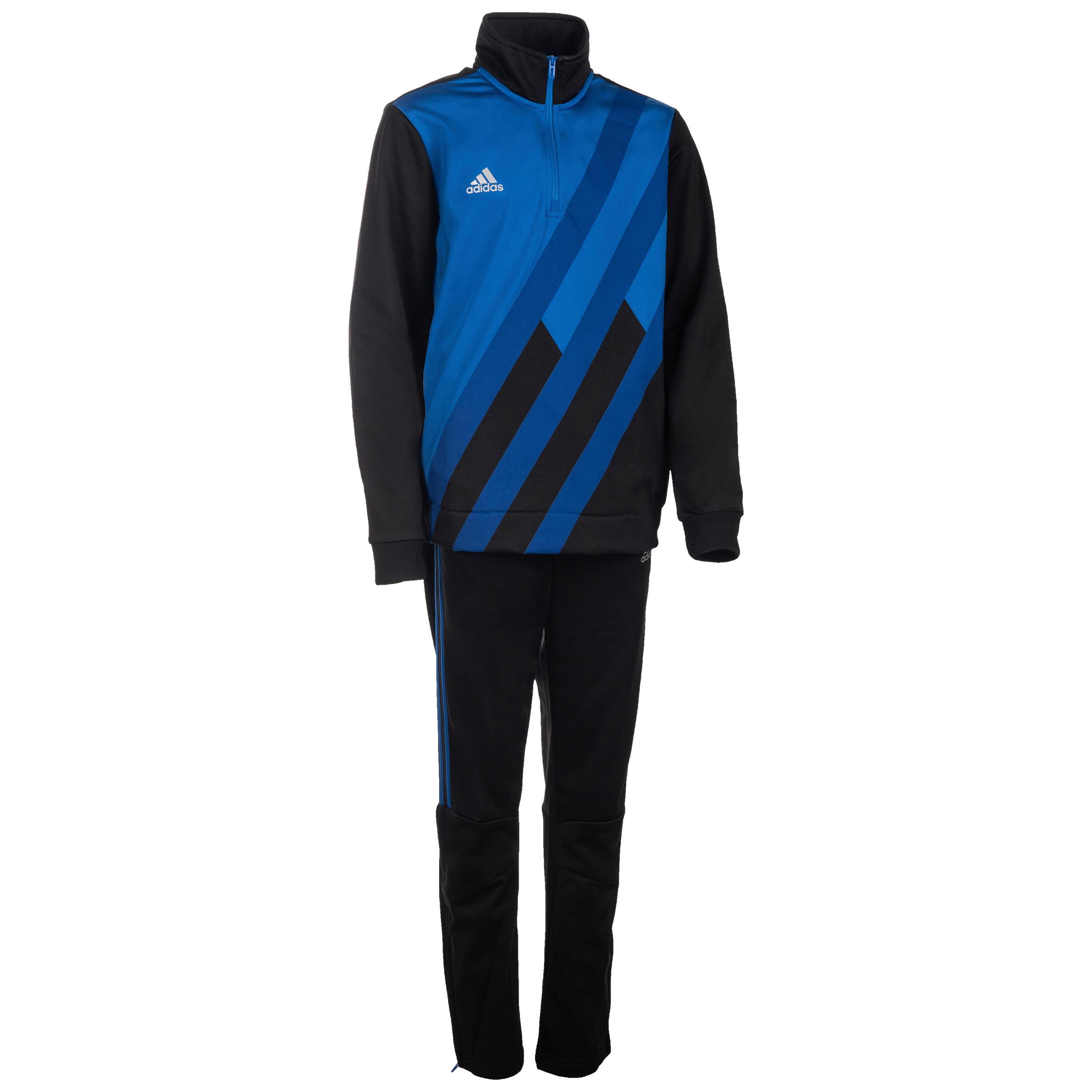 Adidas Gym trainingspak voor jongens blauw