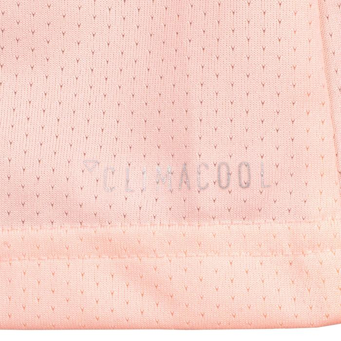 T-Shirt Gym fille corail - 1510861