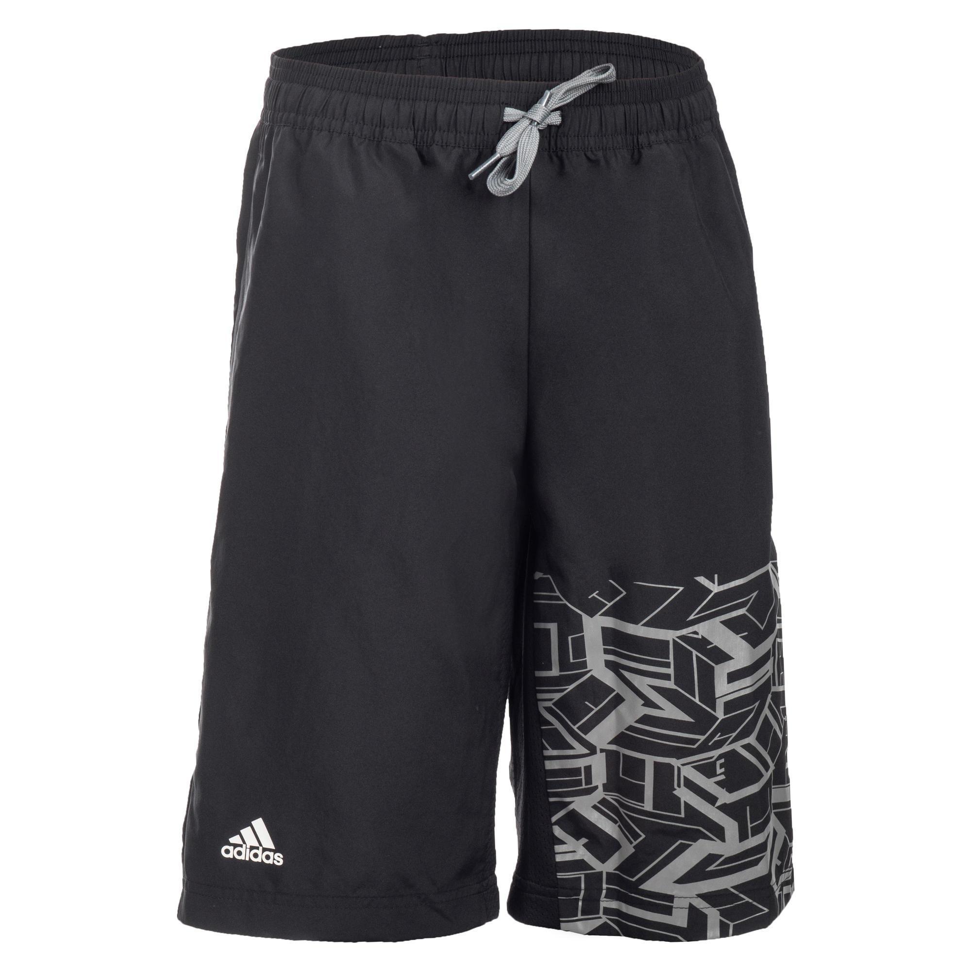 Adidas Gymshort voor jongens zwart
