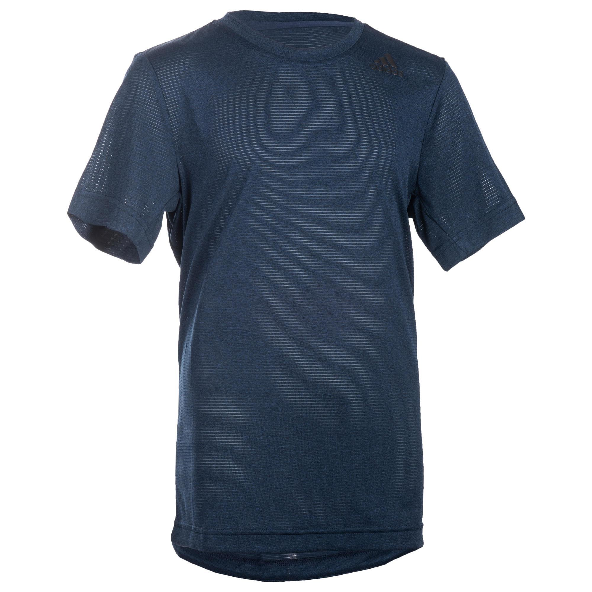 Adidas Gym T-shirt met korte mouwen voor jongens blauw