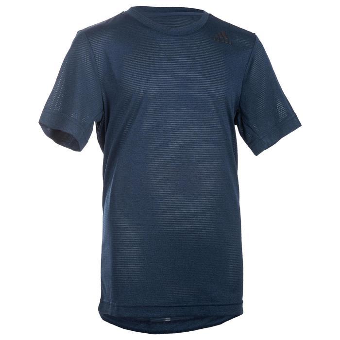 T-Shirt manches courtes Gym garçon bleu
