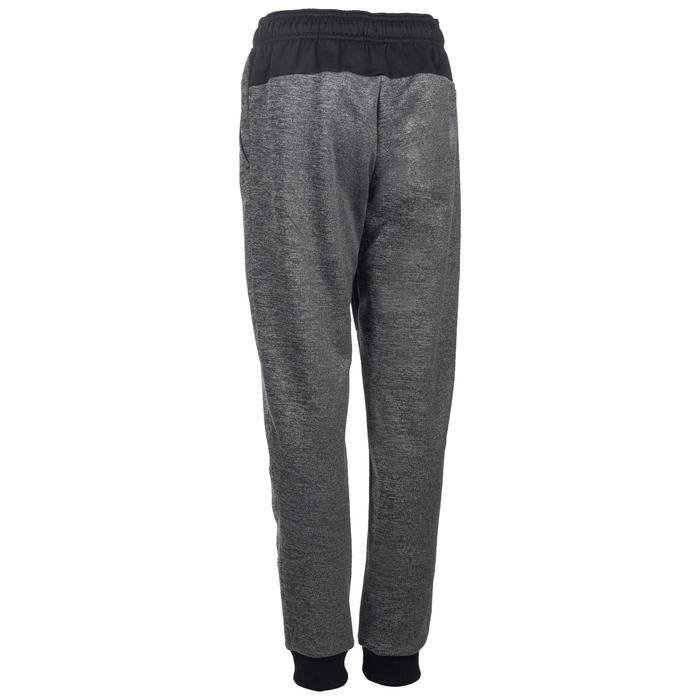 Pantalon chaud slim Gym garçon noir