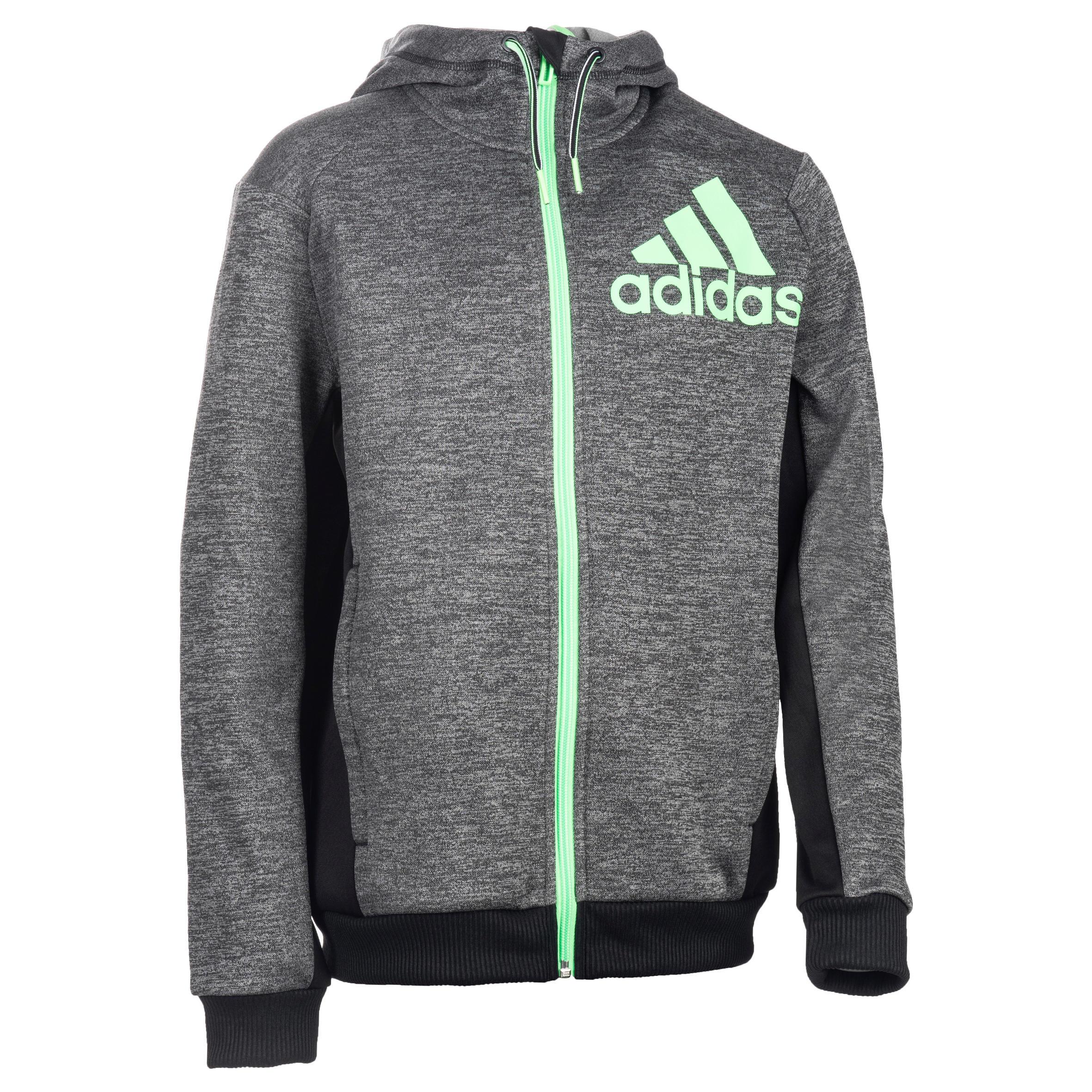 Adidas Gym hoodie met rits voor jongens zwart