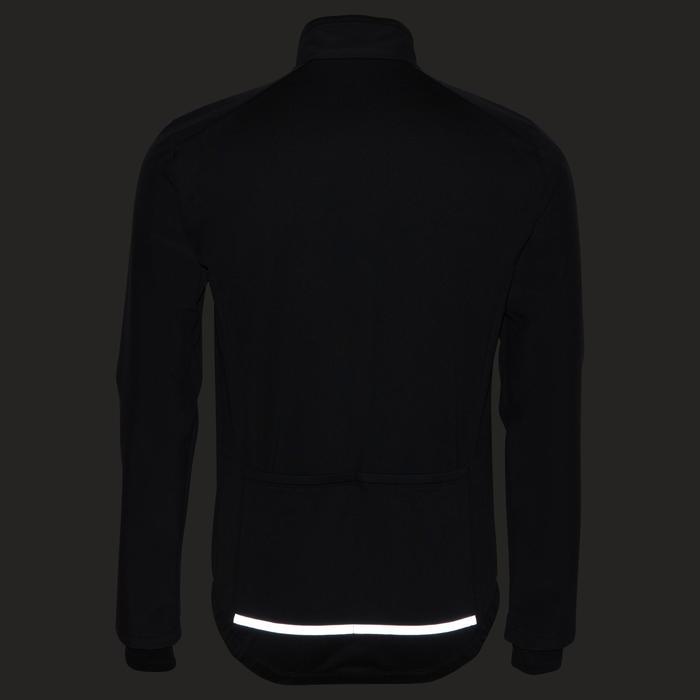 Winterfietsjack 100 zwart