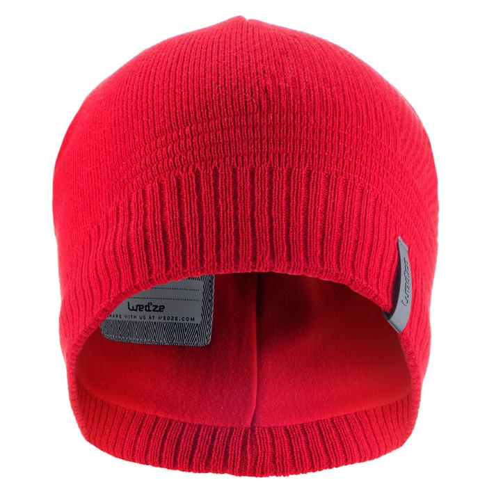 BONNET DE SKI ENFANT PURE ROUGE