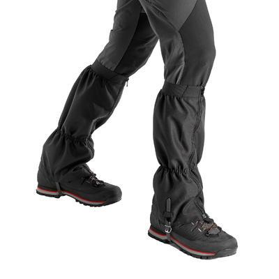 غطاء الحذاء Trek 500 للمشي لمسافات طويلة في الجبال - أسود