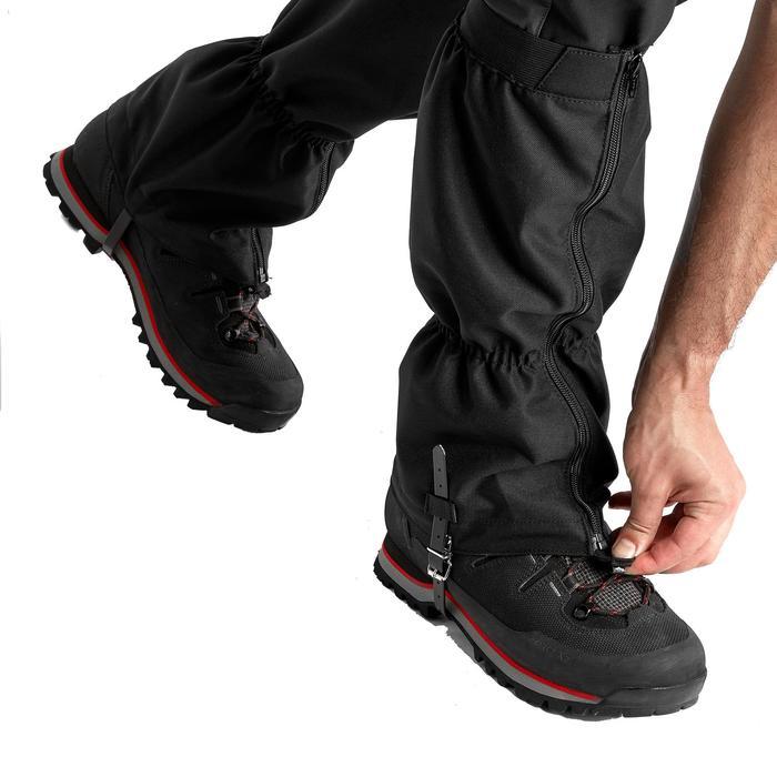 Gaiters voor trekking Trek 500 zwart
