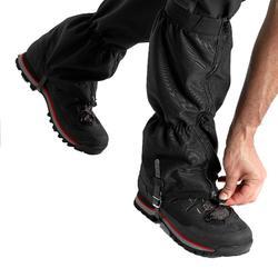 登山綁腿 TREK 500-黑色