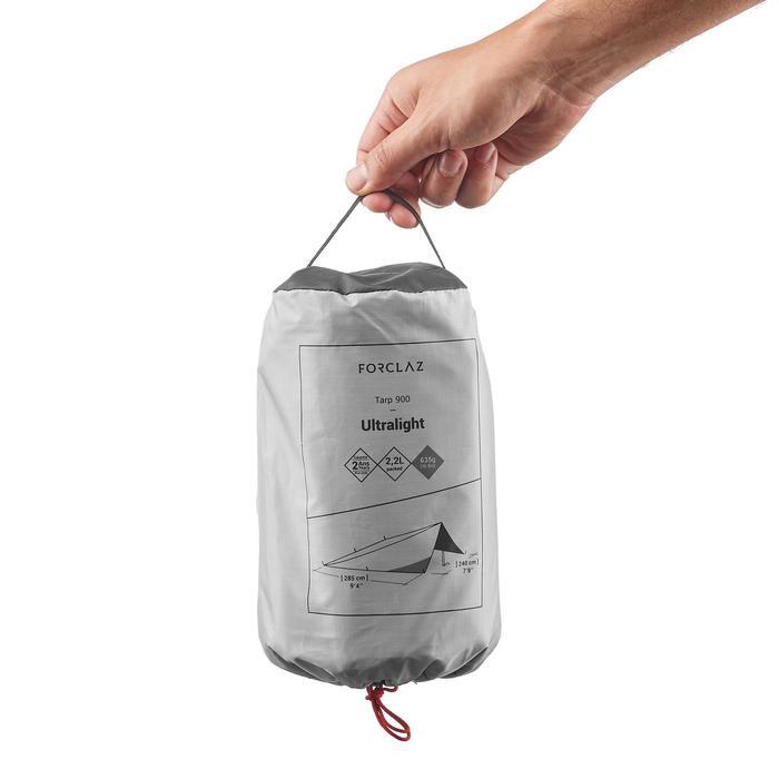 Tarp de trekking TREK900 ultralight gris