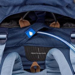 Trekkingrucksack Trek 500 mit 50+10 Liter Damen blau