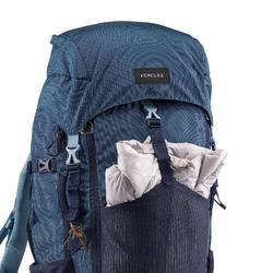 Sac à dos trekking montagne TREK500 50L +10L Femme Bleu