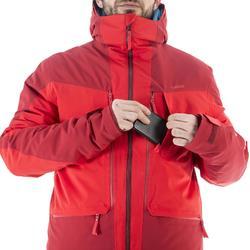 Veste de ski Freeride homme JKT SKI FR500 H Bordeaux