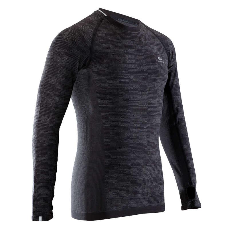 MAN ROAD RUNNING COLD WEATHER CLOTHES - KIPRUN LONG-SLEEVED T-SHIRT KALENJI