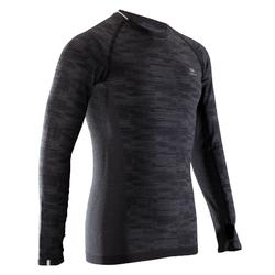 Kalenji Kiprun Skincare Men's Running Long-sleeved T-shirt - Black
