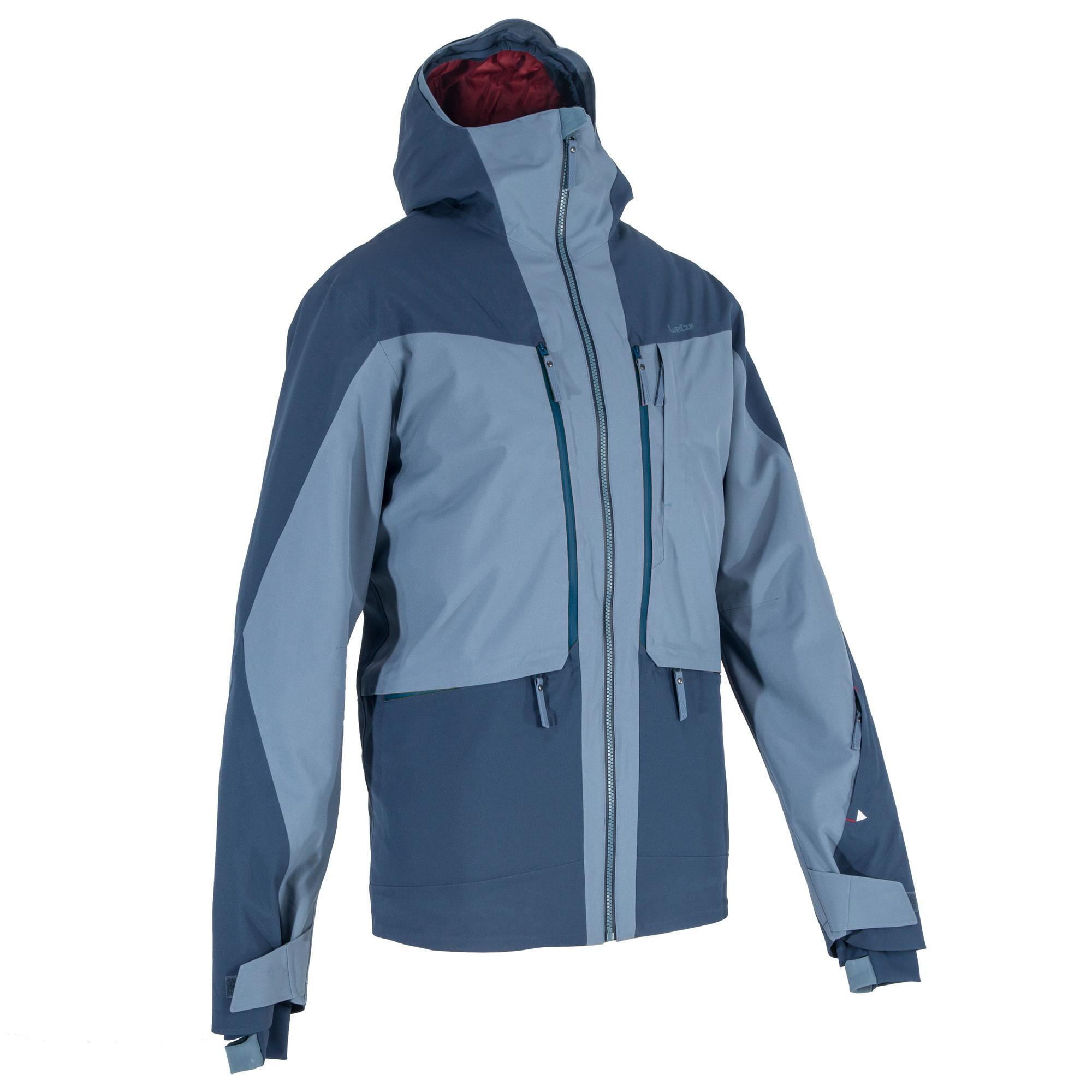 1a0a73ae70c Jacket AM900 Men s All Mountain Ski Jacket - Blue - Decathlon