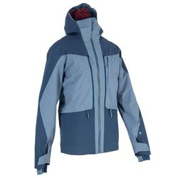 Chaqueta de esquí All Mountain hombre AM900 azul