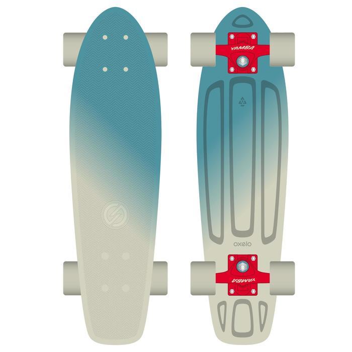 Cruiser skateboard Big Yamba blauw beige