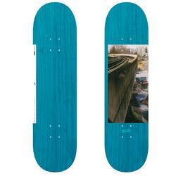 "Tabla de skate DECK 120 talla 8,25"" color azul."