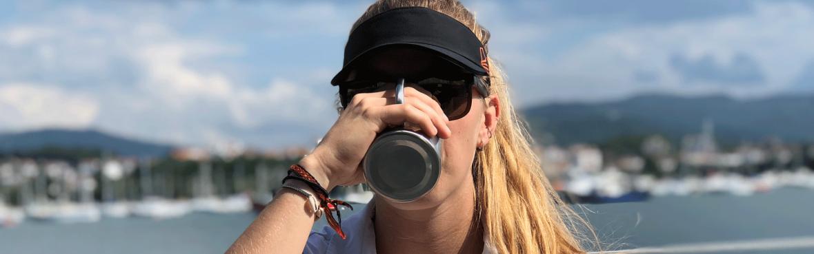 L'hydratation sur un bateau