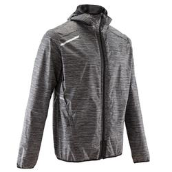 Run Rain Men's Running Jacket - Grey