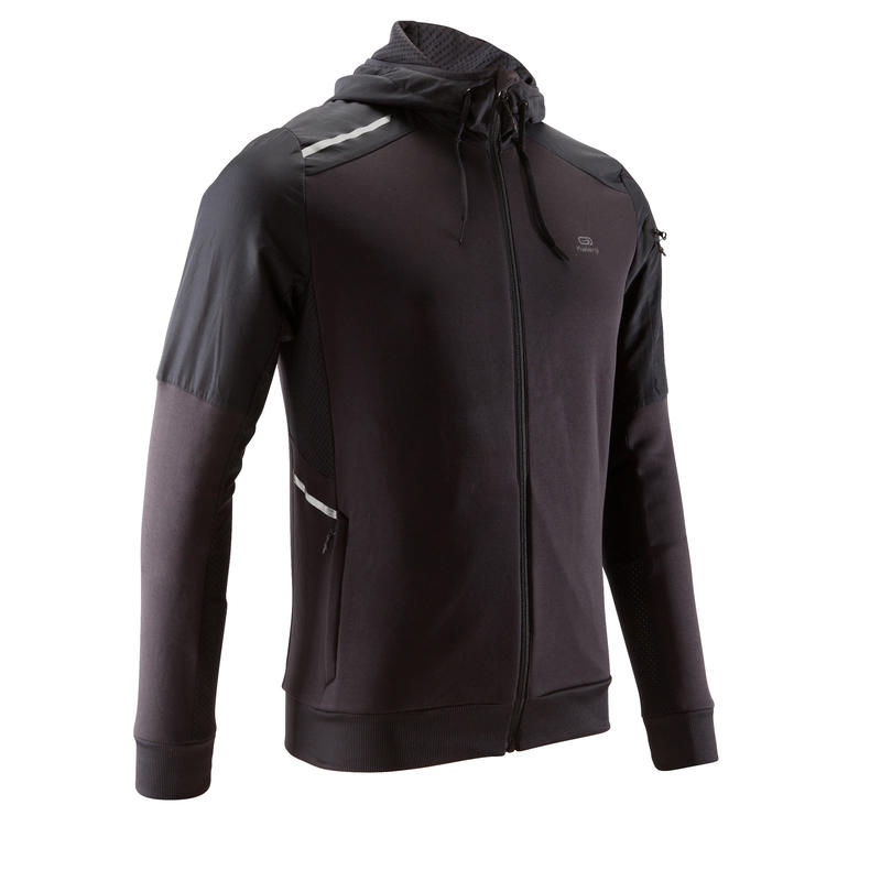 008f46c28ebf RUN WARM+ MEN S RUNNING JACKET - BLACK