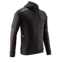Laufjacke Run Warm+ Pocket Herren schwarz