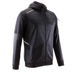 男款跑步外套RUN WARM+ - 黑色