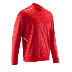 RUN WARM MEN'S RUNNING LONG-SLEEVED T-SHIRT - RED
