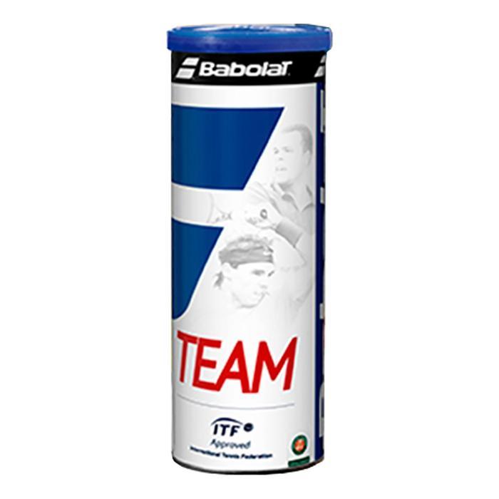 Tennisbälle Team 4er-Dose gelb