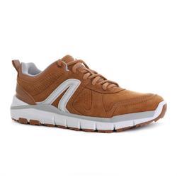 女款皮革健走鞋HW 540 - 焦糖色