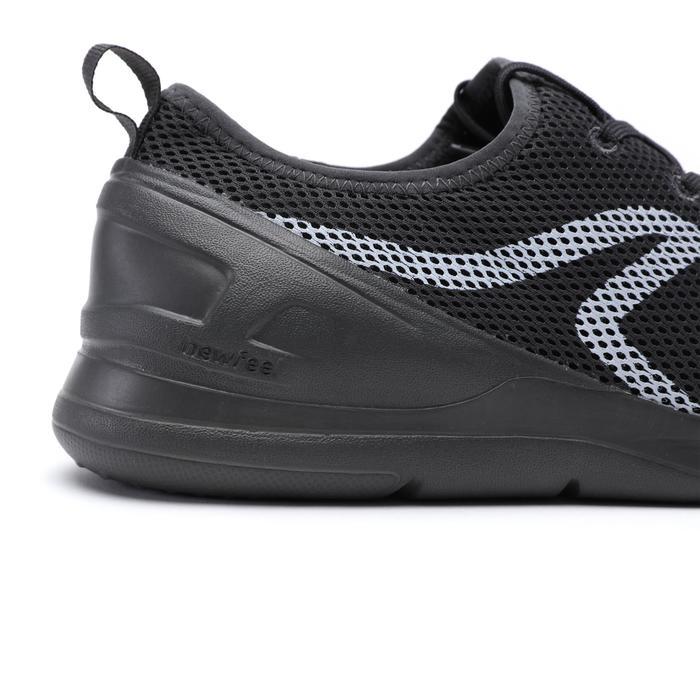PW 100 men's fitness walking shoes dark grey - 1511497