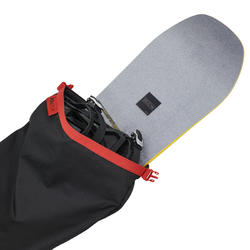 Wed'ze 300 P Cover 2 Skis / 1 Snowboard - Black