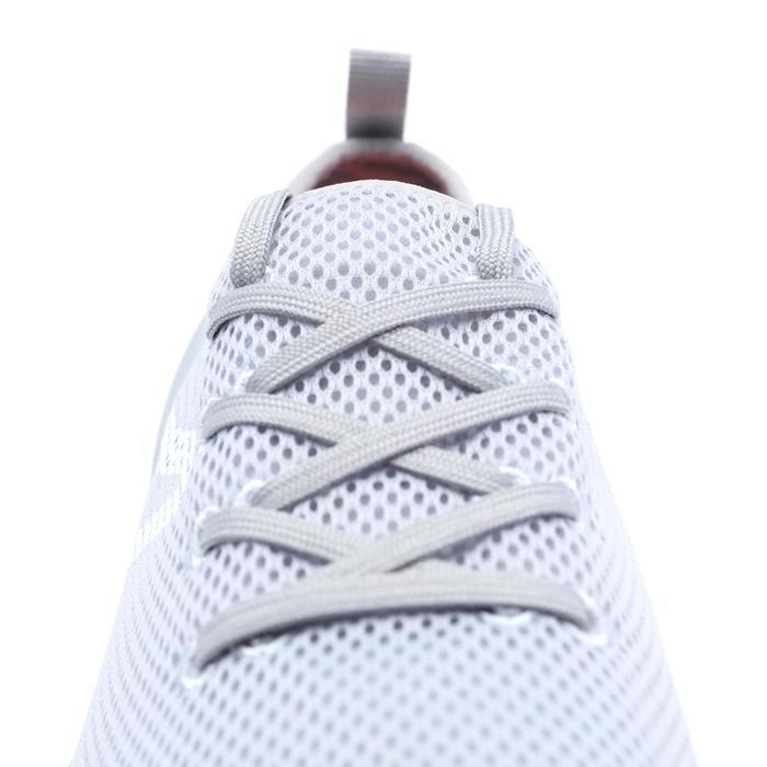 PW 100 women's fitness walking shoes light grey - 1511537