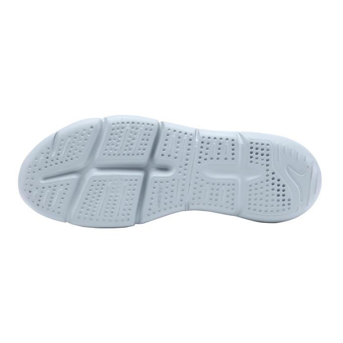 PW 100 women's fitness walking shoes light grey - 1511543