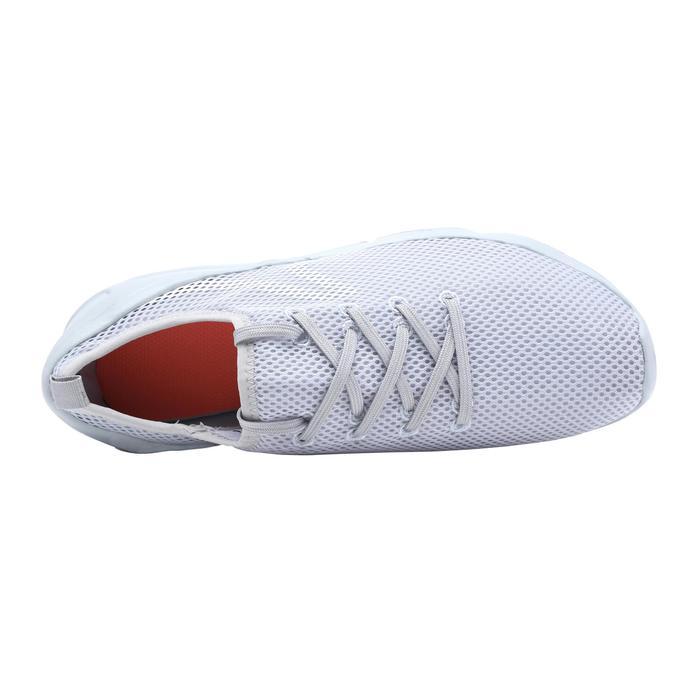 PW 100 women's fitness walking shoes light grey - 1511546