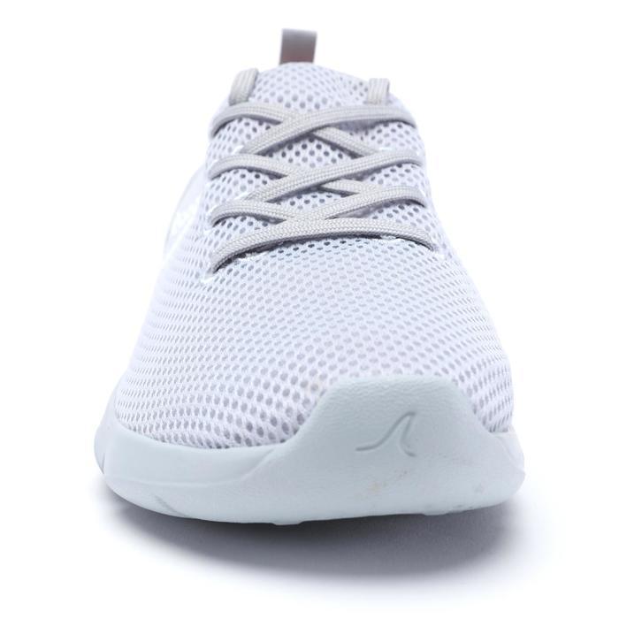 PW 100 women's fitness walking shoes light grey - 1511547