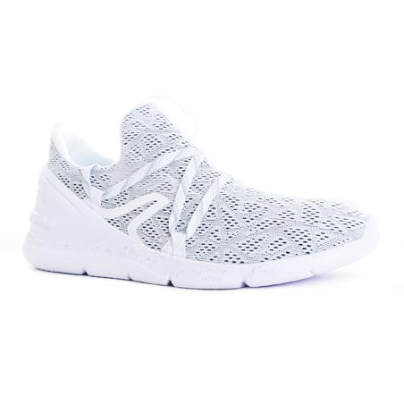 Chaussures marche sportive homme PW 140 blanc