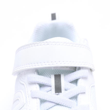 Soft 140 kids walking shoes - white/white