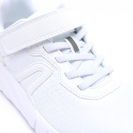 Soft 140 kids' walking shoes - white/white