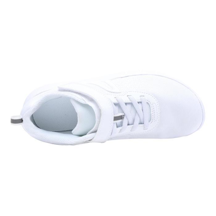 Soft 140 kids' walking shoes - white/white